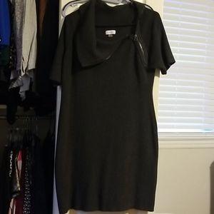 Calvin Klein Dark Grey Sweatee Dress